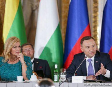 """Duda zdradził, gdzie odbędzie się kolejny szczyt Trójmorza. """"Przyjęliśmy..."""