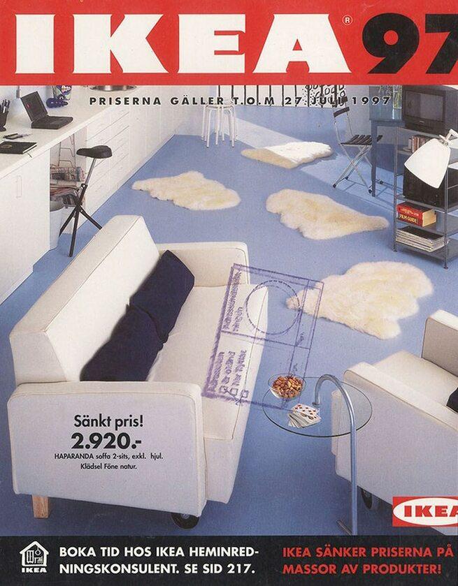 Okładka katalogu IKEA z 1997 roku