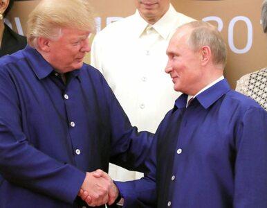 """Trump po rozmowie z Putinem. """"Za każdym razem mówi, że tego nie zrobił...."""