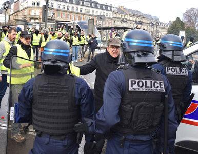 """Do """"żółtych kamizelek"""" dołączyli… licealiści. Kolejne protesty we Francji"""