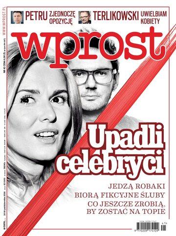 Okładka tygodnika Wprost nr 41/2016 (1757)