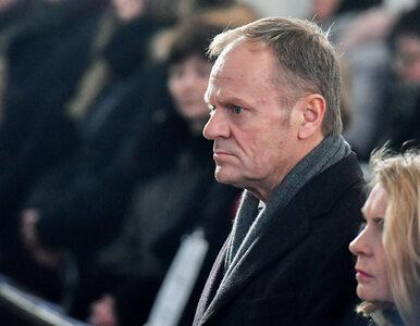 """Tusk wspomina Adamowicza. """"Był celem kampanii nienawiści ze strony..."""