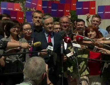 Oficjalnie: SLD, Wiosna i Razem na jednej liście wyborczej do parlamentu