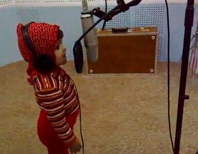 Trzyletnia piosenkarka z Nepalu