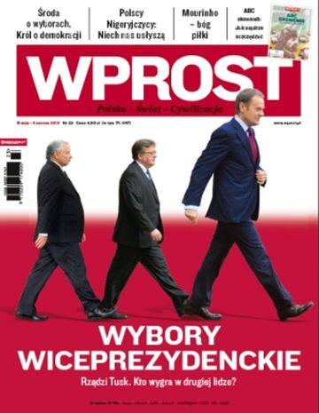 Okładka tygodnika Wprost nr 23/2010 (1426)