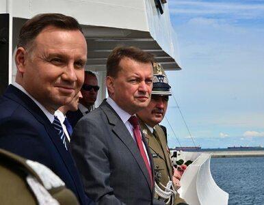 """Szef MON odwołał dowódcę marynarki. """"Nie ma miejsca dla tych, którzy..."""