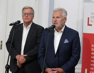 """Apel byłych prezydentów. Kwaśniewski chce, aby """"Duda się określił"""""""