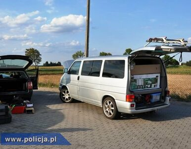 Policjanci odzyskali auto skradzione w Niemczech