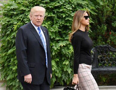 Donald Trump w drodze do Polski. Prezydent zatweetował przed startem