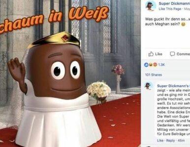 Czarna czekoladka jako Meghan Markle. Reklama wywołała skandal