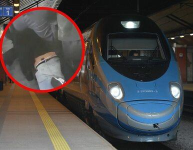 Awantura w pociągu. Mężczyzna powalony na podłogę za brak maseczki