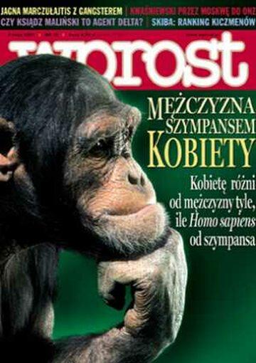Okładka tygodnika Wprost nr 18/2005 (1170)