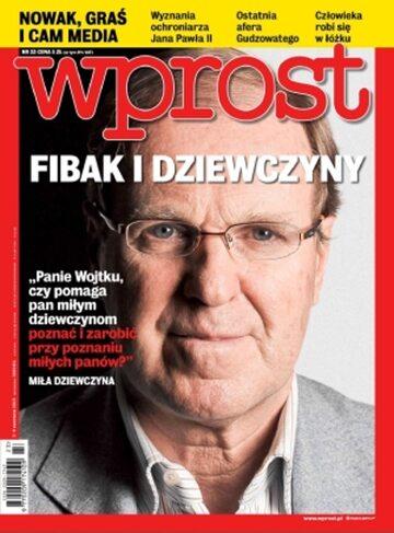 Okładka tygodnika Wprost nr 23/2013 (1580)