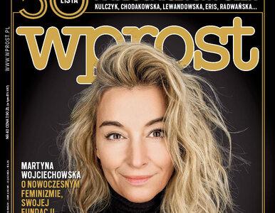 Lista 50 najbogatszych Polek i Martyna Wojciechowska o feminizmie. Co w...