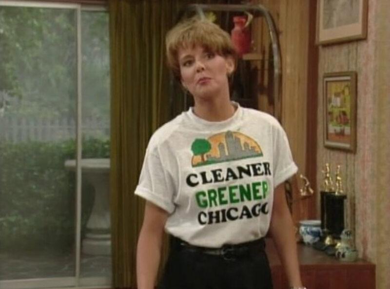 """Amanda Bearse jako Marcy D'Arcy w serialu """"Świat według Bundych"""" (1987)"""