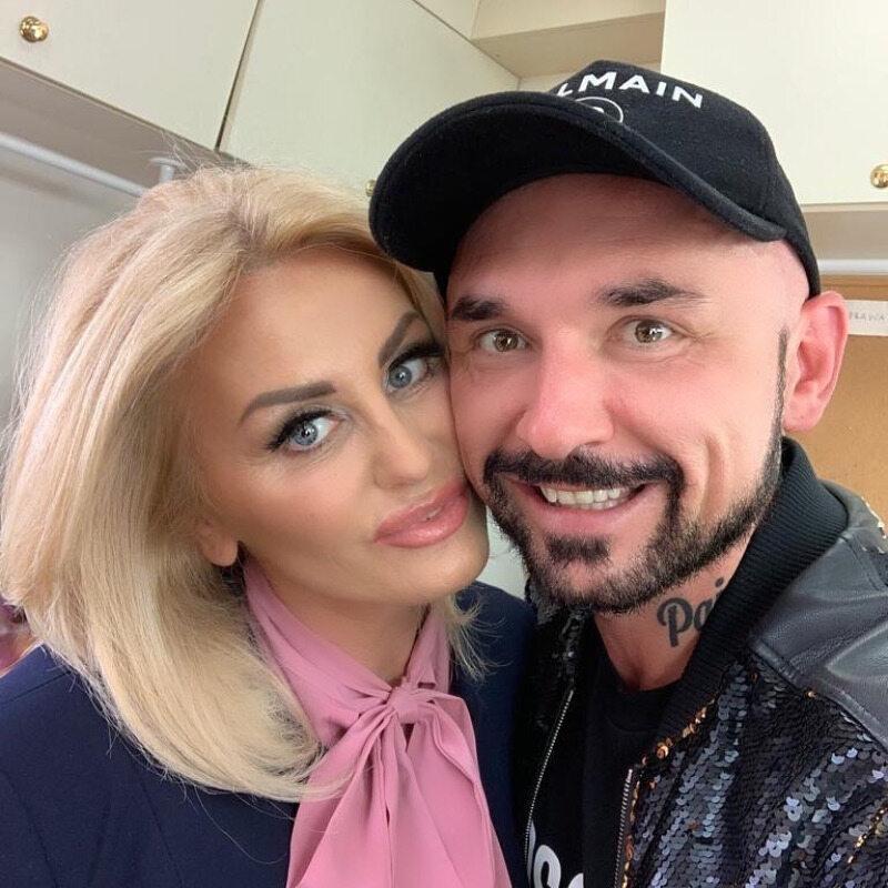 Dagmara Kaźmierska i Patryk Vega