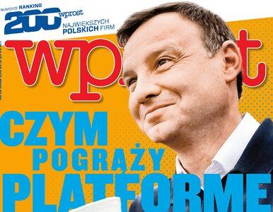 """Czym Andrzej Duda pokona PO. Co w nowym """"Wprost""""?"""