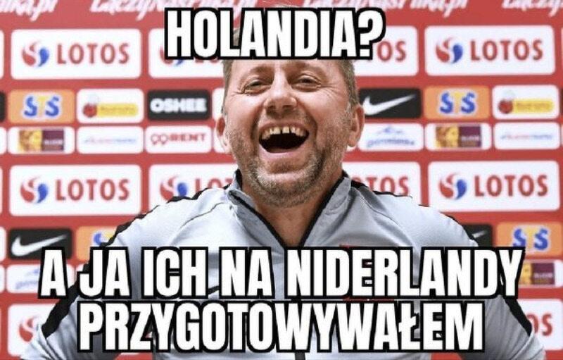 Memy po meczu Polska-Holandia