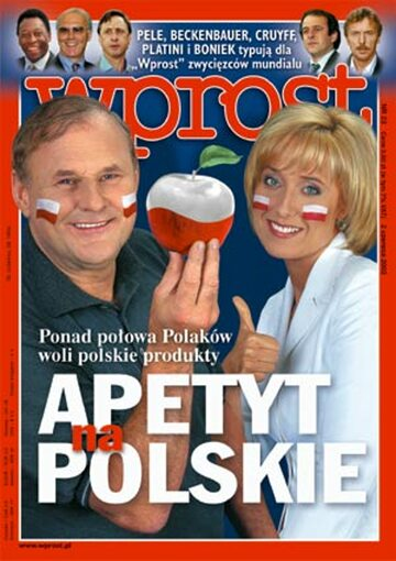 Okładka tygodnika Wprost nr 22/2002 (1018)