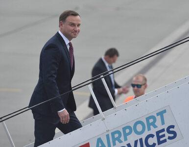 """Ile kosztowały prywatne loty Andrzeja Dudy? """"Tak odreagowuje tydzień w..."""