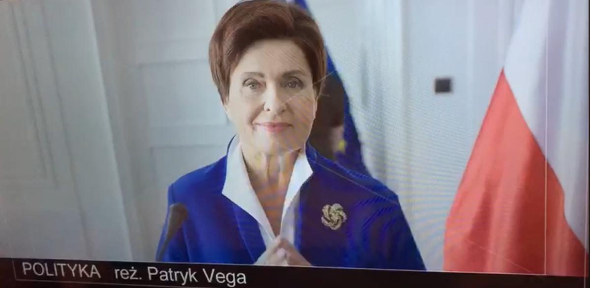 Ewa Kasprzyk jako Beata Szydło