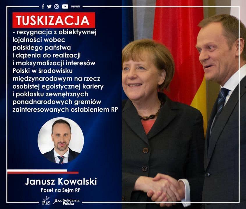 Czasami ogromną popularność w sieci zdobywały autentyczne wypowiedzi Janusza Kowalskiego