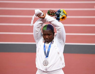 Pierwsza demonstracja na olimpijskim podium. Saunders wsparła wszystkie...