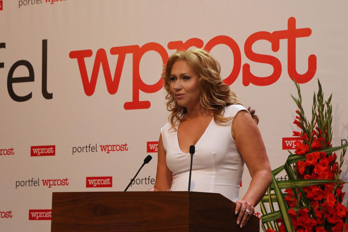 Prezes Fundacji Wprost - Katarzyna Gintrowska