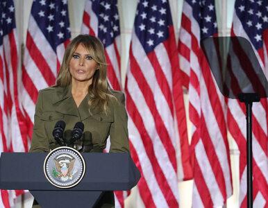 Wyciekły prywatne nagrania Melanii Trump. Pierwsza Dama pozazdrościła...