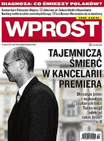Okładka tygodnika Wprost nr 3/2010 (1407)