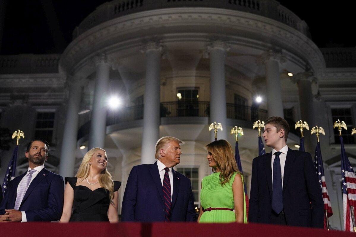 Tak prezentowała się Melania Trump ostatniego dnia konwencji Republikanów