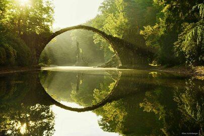 15 baśniowych mostów, które pobudzą wyobraźnię!