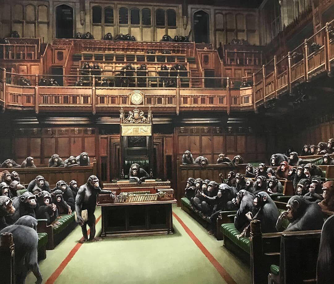 Devolved Parliament Banksy'ego
