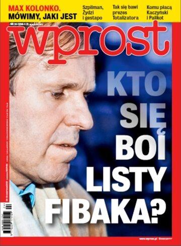 Okładka tygodnika Wprost nr 24/2013 (1581)