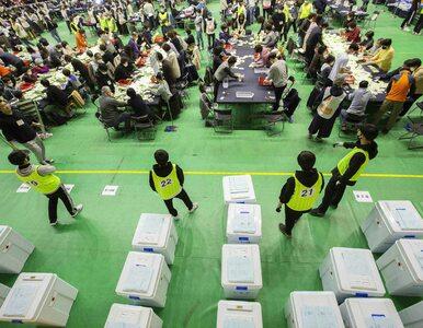 W Korei Południowej przeprowadzono wybory parlamentarne. Wygrała partia...