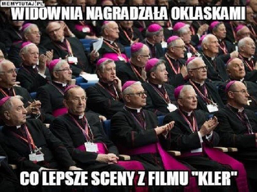 """Memy związne z premierą filmu """"Kler"""""""
