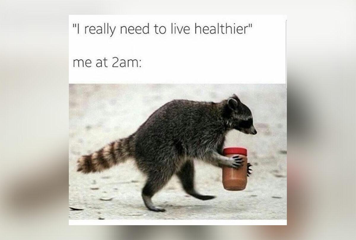 Mem dla osób na diecie