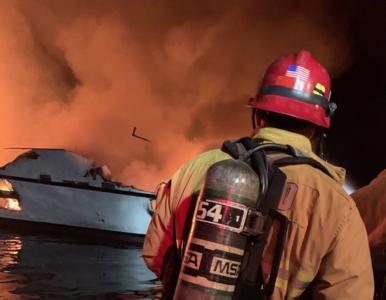 Pożar łodzi u wybrzeży Kalifornii. Los 34 osób jest nieznany