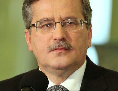Komorowski na inauguracji UKSW w Warszawie