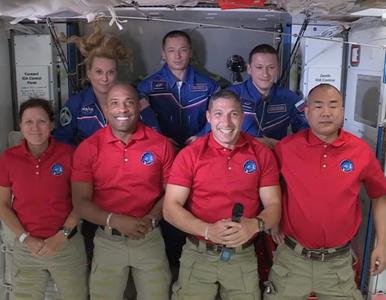 Astronauci misji Crew-1 już na pokładzie ISS. Wraz z nimi Baby Yoda