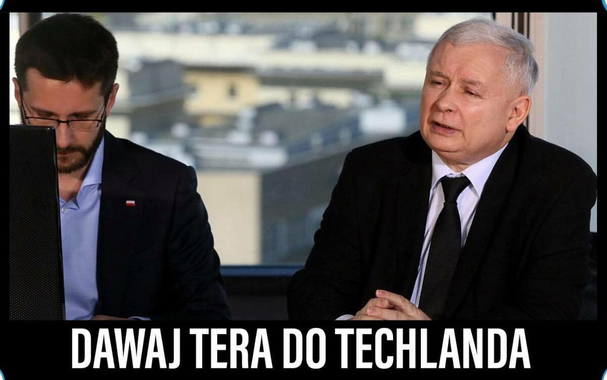 Mem w reakcji na zhakowanie CD Projekt Red