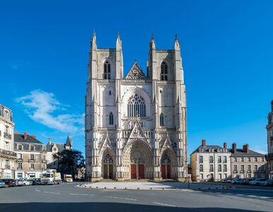 Pożar katedry w Nantes. Policja zatrzymała wolontariusza z tamtejszej...