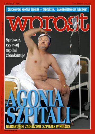 Okładka tygodnika Wprost nr 27/2002 (1023)
