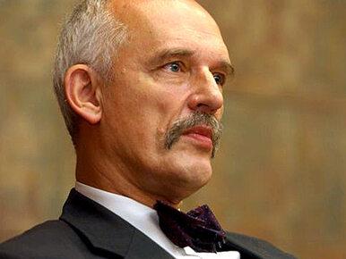 Korwin-Mikke odpowiada Sikorskiemu. Chce by był ministrem w jego rządzie