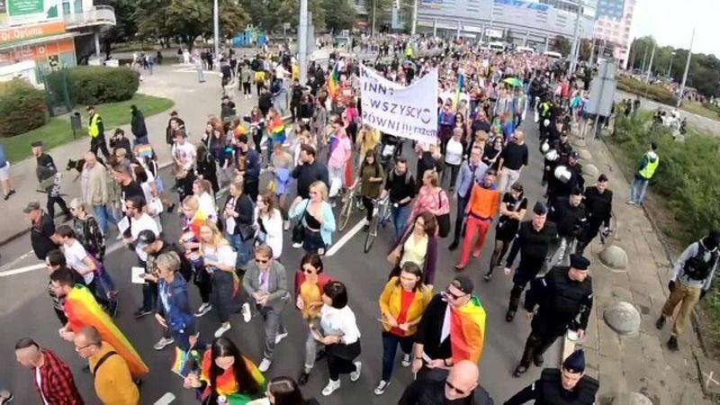 Parada Równości w Szczecinie
