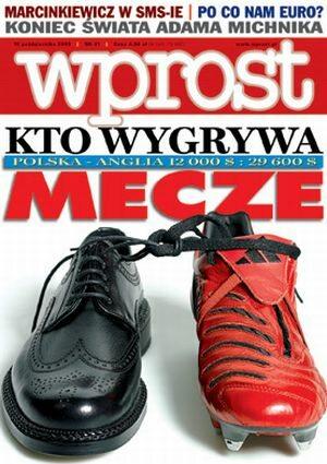 Okładka tygodnika Wprost nr 41/2005 (1193)