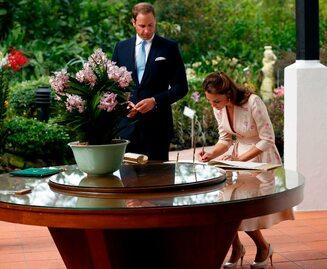 William i Kate rozpoczęli wizytę w Azji Południowo-Wschodniej