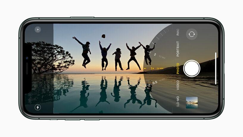 iPhone 11 i opcje aparatu/kamery