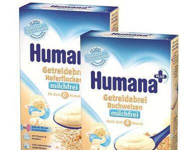 Kaszki bezmleczne owsiana i gryczana - zdrowe nowości Humana