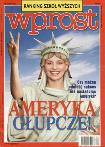 Okładka tygodnika Wprost nr 20/2001 (964)